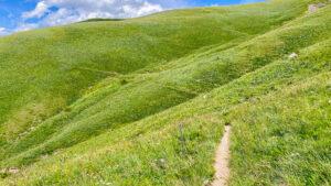Trail vom Lac du Pontet zum Col de L'aguillon