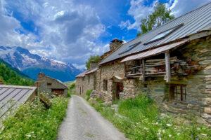 Alte Häuser in Pramailler