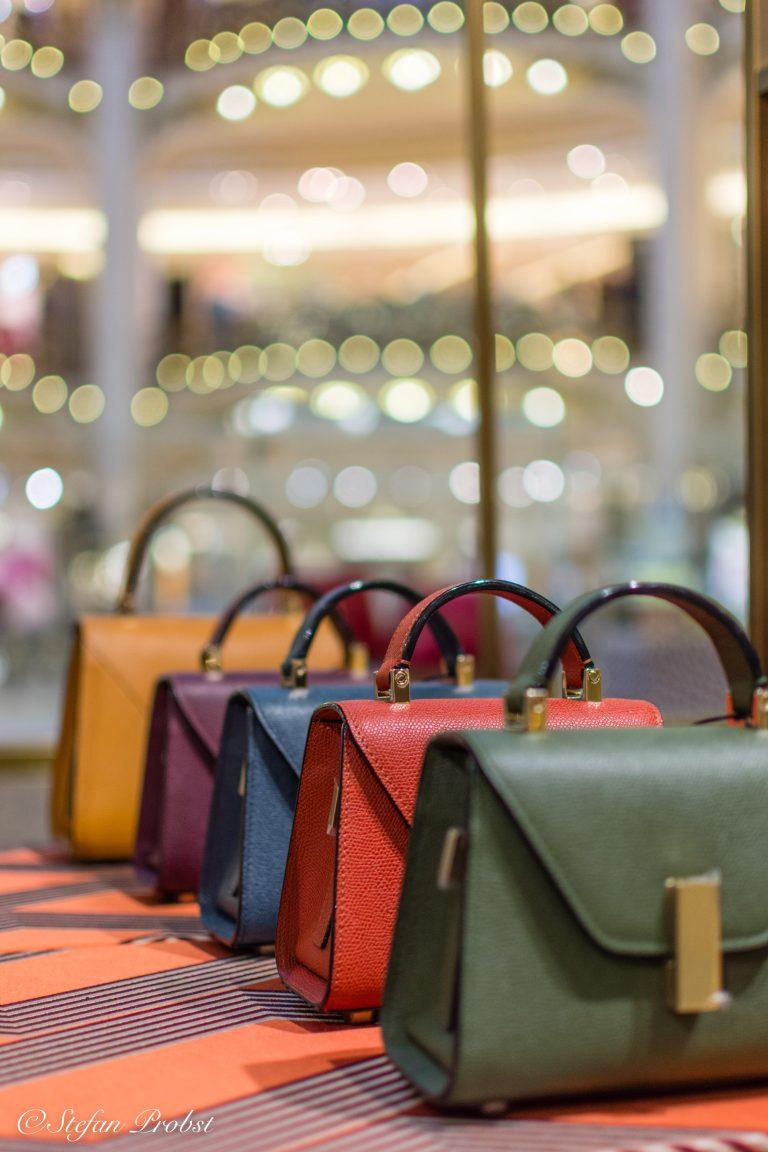 Ein Wochenende in Paris - Handtaschen in der Galeries Lafayette