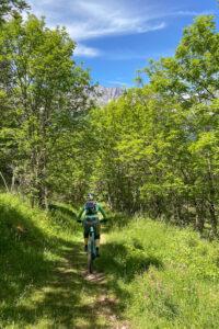 Trail vom Pas du Separon nach Gresse-en-Vercors