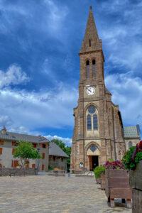Kirche in Villar-d'Arêne