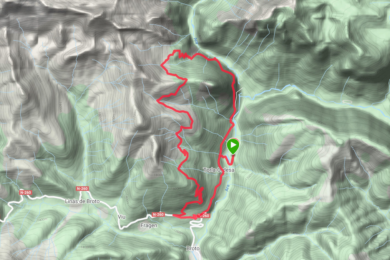 "Mountainbiketour ZZ-029 ""El Cebollar"" Karte"